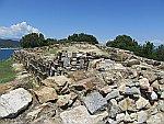 Stageira, de geboorteplaats van Aristoteles, Griekenland