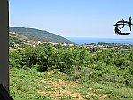 De kust bij Purgadikia, Griekenland