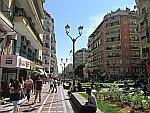 Het bruisende centrum van Thessaloniki, Griekenland