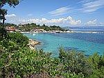 Haven bij Ormos Panagias op Sithonia, Griekenland