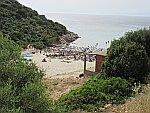 Atspas strand bij Skala Maries, Thassos, Griekenland