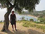 Lies in de buurt van Skala Maries, Griekenland
