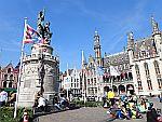 De volkshelden Jan Breydel en Pieter de Coninck in Brugge, Schotland
