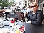 Op een terrasje in Brugge, Schotland