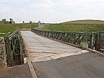 Afgesloten brug bij Douglas Water, Schotland
