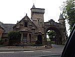 Gatelodge bij de Clyde rivier, Schotland