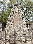 MacRae Memorial park bij Sheriffmuir, Schotland