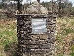 Monument voor de battle of Sheriffmuir, Schotland