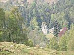 Kasteeltje bij de Tummel rivier, Schotland