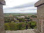 Uitzicht vanaf de Nelson Tower in Forres, Schotland