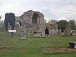 Ruïne van de Kinloss abdij, Schotland