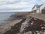 De kust bij Findochty, Schotland