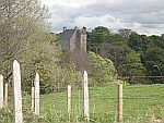 Kasteeltje langs de B9117 ten noorden van Huntly, Schotland