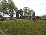 Overblijfselen van Balvaird kasteel, Schotland