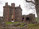 Balvaird kasteel bij Newton of Balcanquhal, Schotland