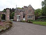 Gatelodge buiten St. Andrews, Schotland