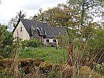 Huisje tussen Muthill en Greenloaning in Perthshire, Schotland