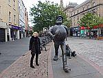 Standbeeld van Desparate Dan in Dundee, Schotland