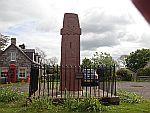 Fowlis Wester sculptured stone tussen Perth en Crieff, Schotland