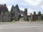 Poort van het Hilton in Dunkeld, Schotland