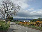 Uitzicht op de brug bij Inverness, Schotland