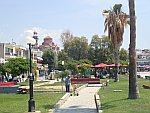 Parkje in Nea Moudania, Griekenland