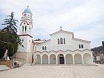 St. Nicolaos kerk in Polygyros, Griekenland