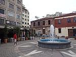 Pleintje in Thessaloniki, Griekenland