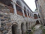 St. Dionysios klooster in het Olympus gebergte, Griekenland