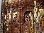 Kerk in het St. Dionysios klooster, Griekenland