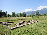 Een klein Romeins badhuis bij Dion, Griekenland