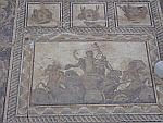 Het mozaiek van Dionysos in Dion, Griekenland