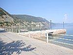 De kust bij Ilia op Evia, Griekenland