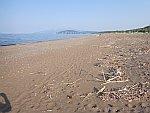 Het strand bij Angkali, Griekenland
