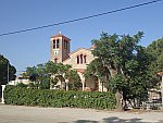 Kerk in Krathi, Griekenland