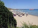 Strand bij Zakynthos stad, Griekenland