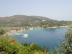 De kust bij Marathias, Griekenland