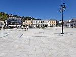 Solomos plein in Zakynthos stad, Griekenland