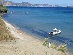 Strand bij Agios Sostis, Griekenland