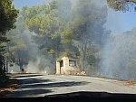Bosbrand bij Keri, Griekenland