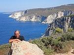 Teije bij de kliffen van Keri, Griekenland