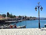 Haventje bij Sagiada, Griekenland