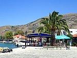 De kust bij Sagiada, Griekenland