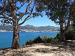 De haven van Igoumenitsa, Griekenland