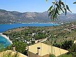 De baai bij Plataria, Griekenland