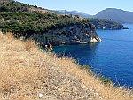De kust ten zuiden van Syvota, Griekenland