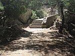 Trappen naar het Zalongo monument, Griekenland