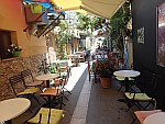 Straatje in Preveza, Griekenland
