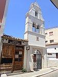 Klokkentoren in Preveza, Griekenland