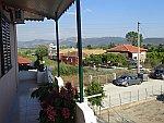 Vanaf ons balkon in Ammoudia, Griekenland